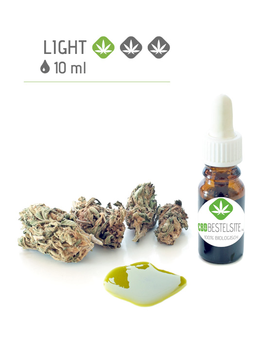 CBD olie 10 ml light